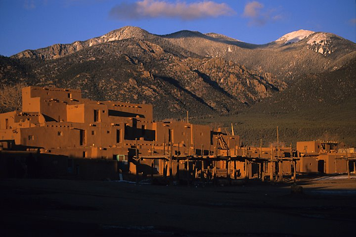 Taos Pueblo UNESCO World Heritage Site